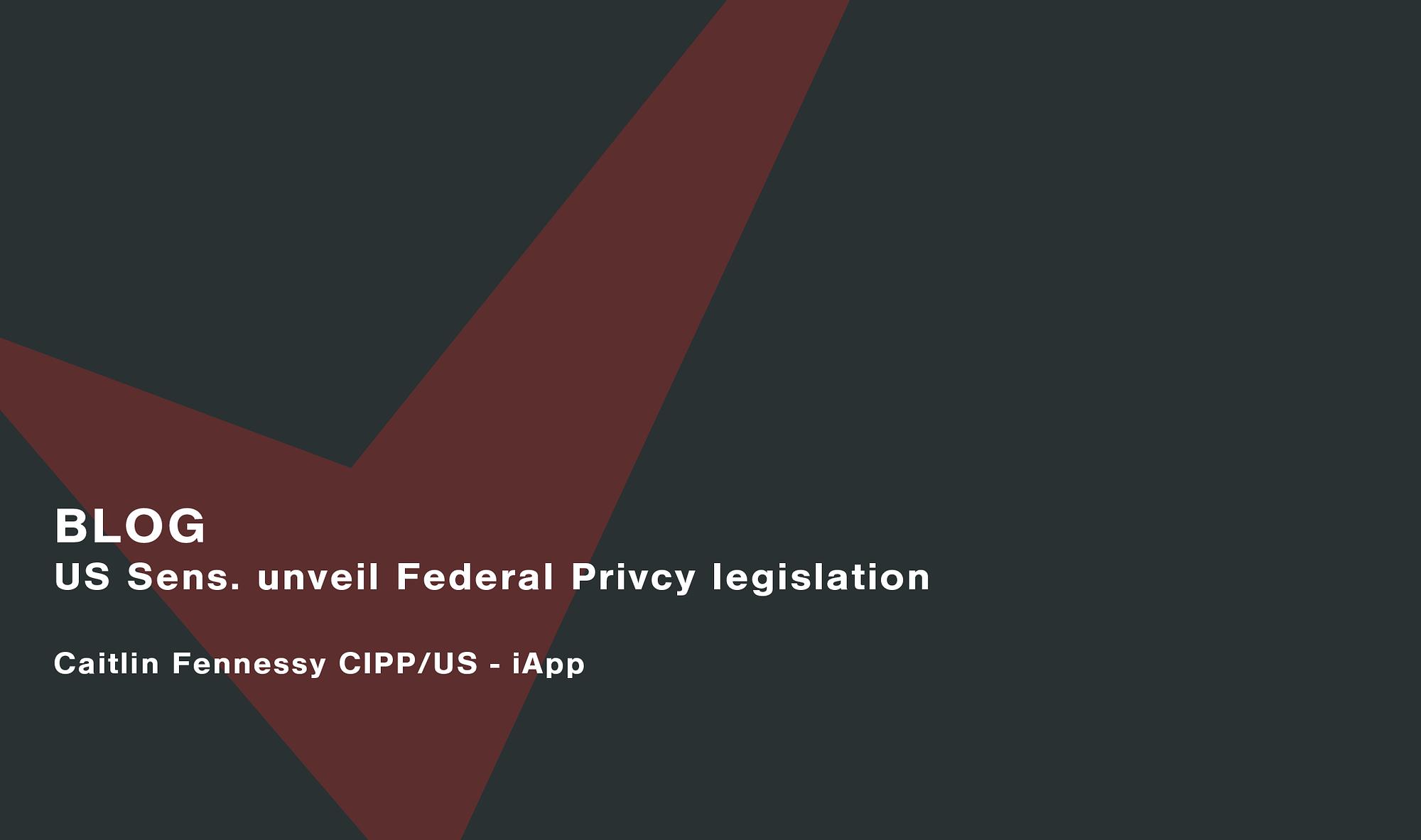 US-Sens.-unveil-Federal-Privcy-legislation