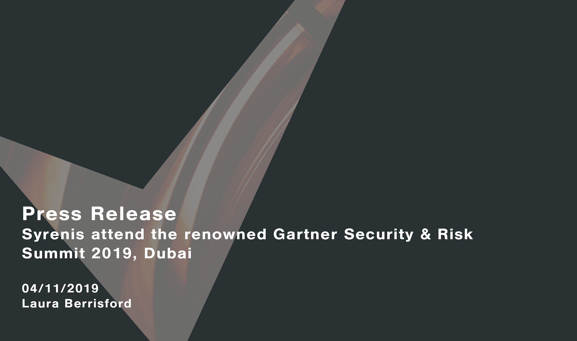Syrenis-attend-the-renowned-Gartner-Security-Risk-Summit-2019-Dubai